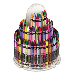 Crayola Telescoping Crayon Tower, Wax, 150 Colors/Pack