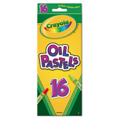 Crayola Oil Pastels,16-Color Set, Assorted, 16/Pack
