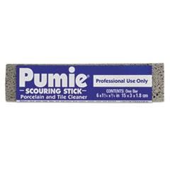 Pumie Scouring Stick, 6 x 3/4 x 1 1/4, 12/Box
