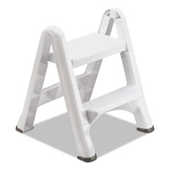 Rubbermaid®-STEPSTOOL,FOLDNG,2STP,WH