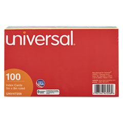 UNV 47256 Universal Recycled Index Strong 2 Pt. Stock Cards UNV47256