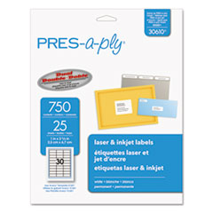 AVE 30610 PRES-a-ply Labels AVE30610