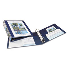 Avery Heavy-Duty View Binder w/1-Touch EZD Rings, 1 1/2