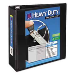 Avery Heavy-Duty View Binder with One Touch EZD Rings, 4