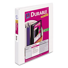 Avery Durable View Binder with Slant Rings, 11 x 8 1/2, 1