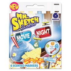 SAN 1898305 Mr. Sketch Scented Watercolor Marker SAN1898305