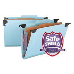 SMD 65155 Smead Hanging Pressboard Classification Folders with SafeSHIELD Coated Fasteners SMD65155