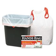 WBI HAB6DK50 Handi-Bag Drawstring Kitchen Bags WBIHAB6DK50