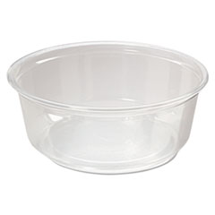Fabri-Kal® CONTAINER DELI 8OZ 50 CLR Microwavable Deli Containers, 8oz, Clear, 500-carton