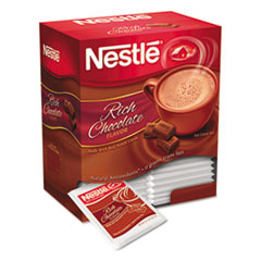 Nestl� Hot Cocoa Mix, Rich Chocolate, .71oz, 50/Box