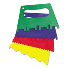 CKC 5185 Creativity Street Plastic Paint Scrapers CKC5185