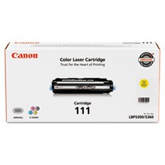 Canon 1657B001 (111) Toner, 6000 Page-Yield, Yellow