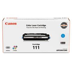Canon 1659B001 (111) Toner, 6000 Page-Yield, Cyan