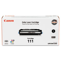 Canon 1660B001 (111) Toner, 6000 Page-Yield, Black