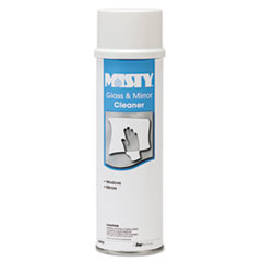 Misty Glass & Mirror Cleaner w/Ammonia, 19oz Aerosol