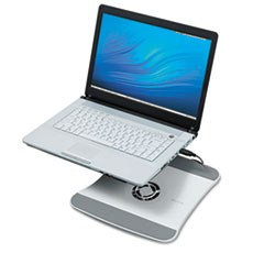 Belkin Laptop Cooling Stand with Wave Design, 11 1/2 x 12 1/2 x 1 3/8, White