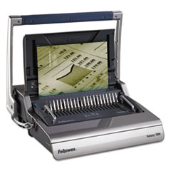 Fellowes Galaxy Comb Binding System, 500 Sheets, 20 7/8 x 17 3/4 x 6 1/2, Gray