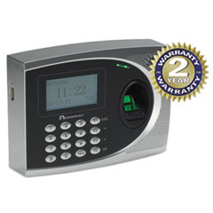 Acroprint timeQplus Biometric Time and Attendance System, Automated