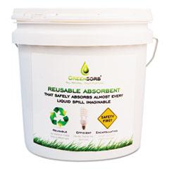 GreenSorb Eco-Friendly Sorbent, 10 lb Bucket