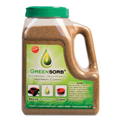 GreenSorb™ SORBENT GREENSORB 4LB Eco-Friendly Sorbent, Clay, 4 Lb Shaker Bottle