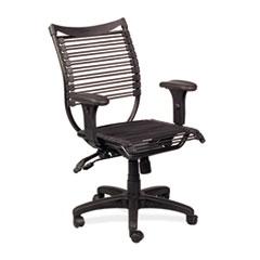 Seatflex Series Swivel/Tilt Chair w/Arms, Black