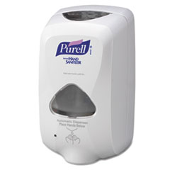 PURELL TFX Touch Free Dispenser, 1200mL, Gray/White