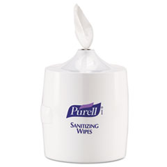 PURELL Hand Sanitizer Wipes Wall Mount Dispenser, 1200/1500 Wipe Capacity, White