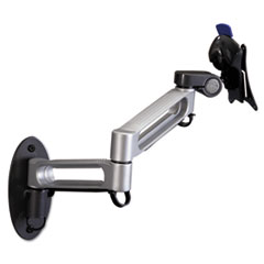 BALT Dual Arm Wall Mount, Steel/Plastic, 17 x 15 x 7, Gray/Black