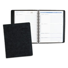 AT-A-GLANCE The Action Planner Weekly Appointment Book, 8 1/8 x 10 7/8, Black, 2016