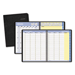 AT-A-GLANCE QuickNotes Weekly/Monthly Appointment Book, 8 1/4 x 10 7/8, Black, 2016