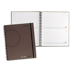 AT-A-GLANCE PLAN.WRITE.REMEMBER. Planning Notebook Two Days Per Page, 9 3/16 x 11, Gray