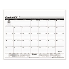AT-A-GLANCE Desk Pad Refill, 22 x 17, 2016