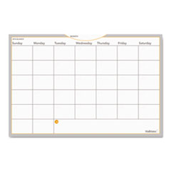 AT-A-GLANCE WallMates Self-Adhesive Dry Erase Monthly Planning Surface, 36 x 24