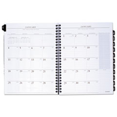 AT-A-GLANCE Executive Monthly Planner Refill, 6 7/8 x 8 3/4, White, 2016
