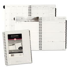 AT-A-GLANCE Executive Fashion Weekly/Monthly Planner Refill, 8 1/4 x 10 7/8, 2016
