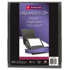 SMD 87001 Smead Organized Up Stackit Three-Pocket Organizer SMD87001