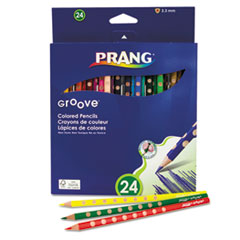DIX 28124 Prang Groove Colored Pencils DIX28124