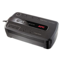 APC Back-UPS 750 Battery Backup System, 10 Outlets, 750 Volt Amps