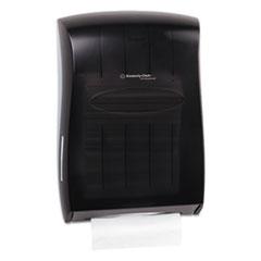 Kimberly-Clark Professional* Universal Towel Dispenser, 13 31/100w x 5 17/20d x 18 17/20h, Smoke/Gray