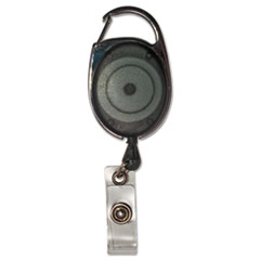 Advantus Carabiner-Style Retractable ID Card Reel, 30