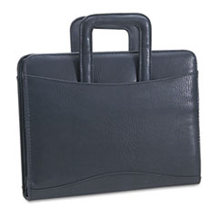 Bond Street, Ltd. Vinyl Multi-Ring Zipper Portfolio, 1-1/2