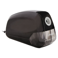 Universal Contemporary Design Electric Pencil Sharpener, Black