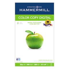 Hammermill Copy Paper, 100 Brightness, 28lb, 8-1/2 x 14, Photo White, 500/Ream