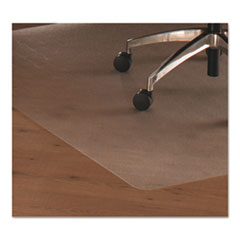 FLR 1213419LR Floortex Cleartex Ultimat Polycarbonate Chair Mat for Hard Floors FLR1213419LR