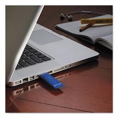 Verbatim Classic USB 2.0 Flash Drive, 8GB, Blue