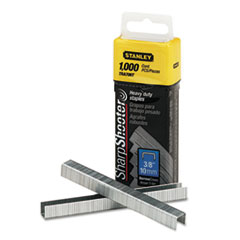 Stanley Sharpshooter 3/8 Inch Leg Length Staples, 1,000/Box