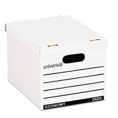 UNV 25223 Universal Basic-Duty Economy Record Storage Boxes UNV25223