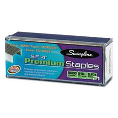 Swingline S.F. 4 Premium Chisel Point 210 Count Full-Strip Staples, 5000/Box