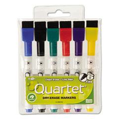 QRT 51659312 Quartet Low-Odor ReWritables Dry Erase Mini-Marker Set QRT51659312