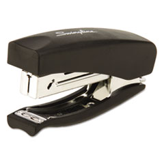 Swingline Soft Grip Half Strip Hand Stapler, 20-Sheet Capacity, Black